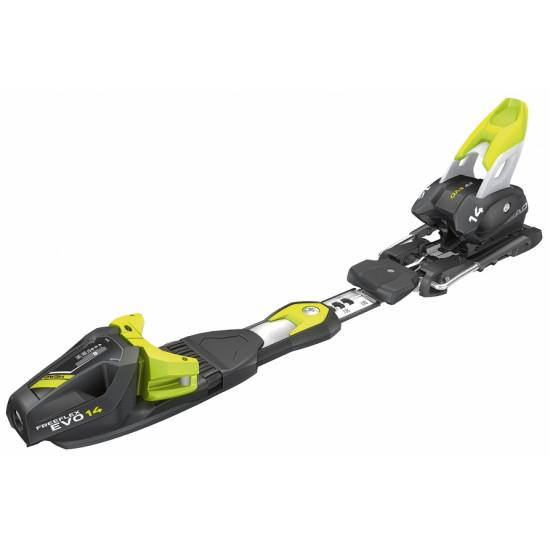 Kрепление гл FREEFLEX 14 BR.85[D] matt black/flash yellow