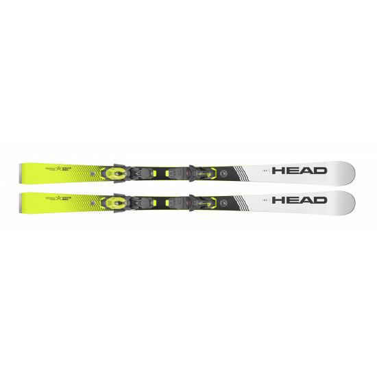 Комплект WC Rebels iSLR SW LYT-PR + PR 11 GW BRAKE 78 [G] (313360+100789) (горные лыжи+крепления гл) black/neon yellow