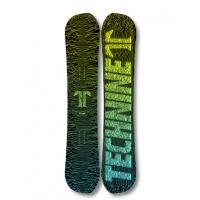 Сноуборд TECHNINE HERITAGE SNOWBOARD - T9 CLASSIC BLACK/GREEN/YEL F19_O
