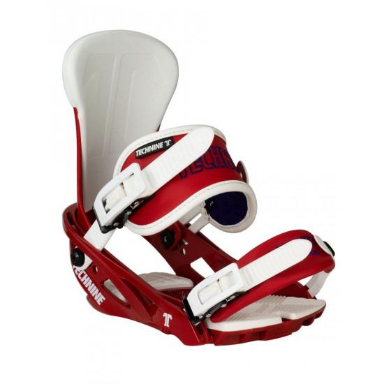 Крепления для сноуборда TECHNINE BLASTER BINDING FLAT HB RED/BLUE F19_O